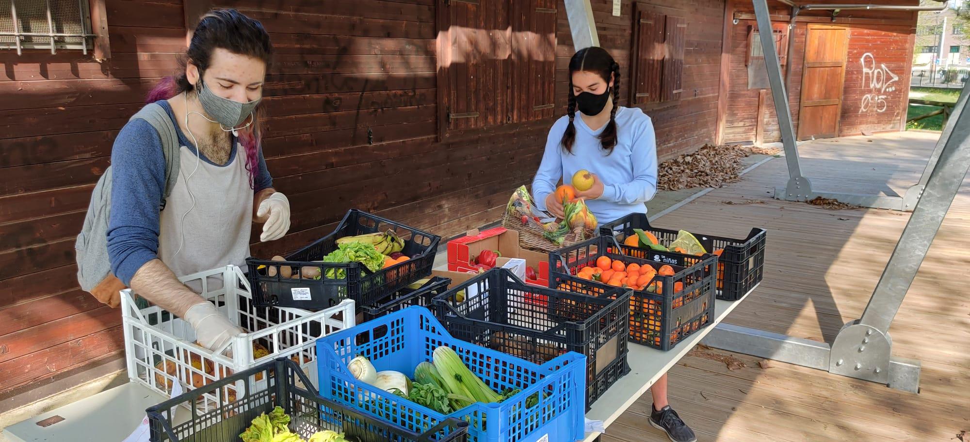 A Grugliasco, 1870 kg di cibo recuperato e redistribuito